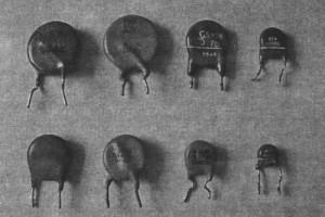 Рис. 4. Типы защитных варисторов