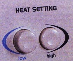 Рис. 11 Кнопки управления температурой
